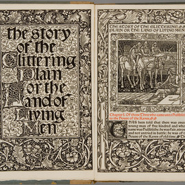 William Morris - The Story of the Glittering Plain,  Kelmscott Press, 1894