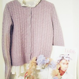 Girly Rose - Daisy Botton Knit