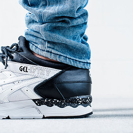 ASICS, Monky Time - Gel Lyte V - White/Black/Speckled