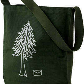 Sally Scott - 2011 A/W tree letter bag