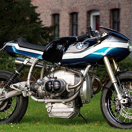 Rock n Roll Cycles - BMW R80 Coffee Rocker