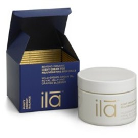 ila - night cream for rejuvenating skin cells