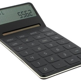 LEXON - ELA DESK TOP dual power calculator ブラック LC59