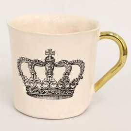 Kuhn Keramik - Alice Big Cup Pink -crown-