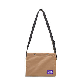 THE NORTH FACE PURPLE LABEL - Suede Shoulder Bag-Beige