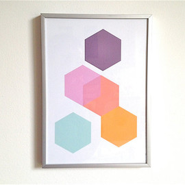 mipluseddesign - Print Set Geometric Print Series Minimalist Wall Art Series