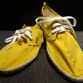 H&M - espadrille Men's Shoes Yellow