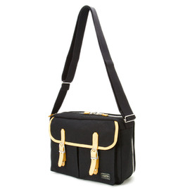 "HEAD PORTER - ""LX"" SHOULDER BAG BLACK"