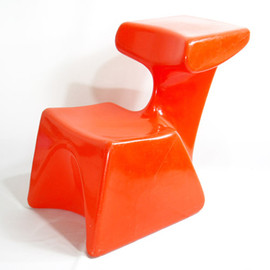 Top system -  Zocker Child Stool  Luigi Colani