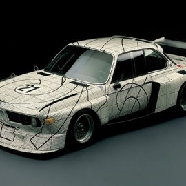 Frank Stella - 1976 bmw 3.0 csl art car by frank stella