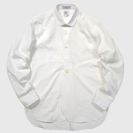 RAYNER & STURGES x NEPENTHES LONDON - Victorian Shirt - White Poplin