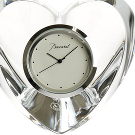 BACCARAT - Heart Clock, Clear