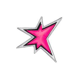 "miu miu - ''STAR"" NAPPA LEATHER BROOCH"