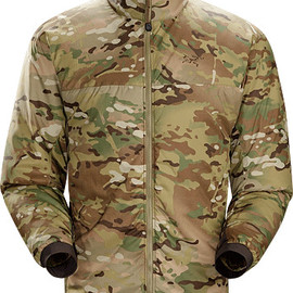 Arc'teryx leaf - Atom LT Jacket MultiCam Men's Insulated, mid-layer jacket with wind and moisture resistant outer face fabric; Ideal as a layering piece for cold weather activities.
