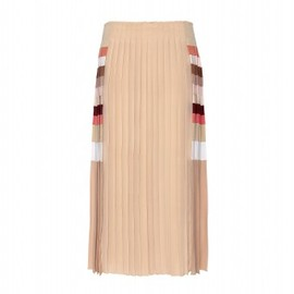 Chloe - PLEATED SILK SKIRT
