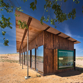 University of Colorado students - Nakai House, Utah Desert, USA