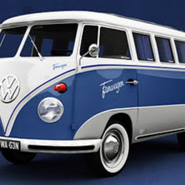 Volkswagen - facebook bus