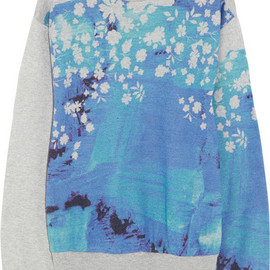 PREEN BY THORNTON BREGAZZI - Splash printed cotton sweatshirt