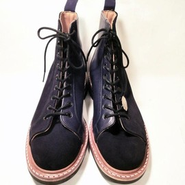 Tricker's - UNRIVALED×Tricker's MONKEY BOOTS BLACK