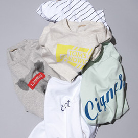 A&S <DOWN THE STAIRS> - Logo Tee Collection