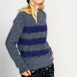 reale - Reale London Mohair Stripe Knit