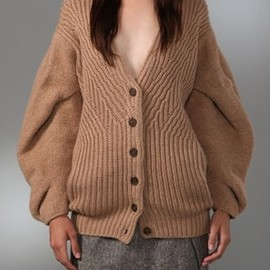 Alexander Wang - Chunky cable knit cardigan