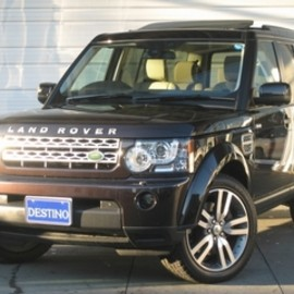 Land Rover - DISCOVERY4 BROWN