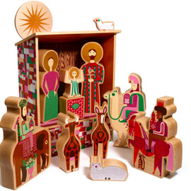 Alexander Girard, House Industries - Alexander Girard Nativity Set