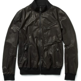 BOTTEGA VENETA - Washed Leather Jacket
