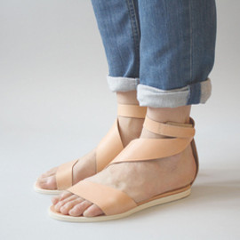 Lambs Ear Shoes  - VPL MOLLUSCA SANDAL by LD Tuttle