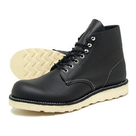 RED WING - 8165 6inch CLASSIC PLAIN TOE Black Chrome