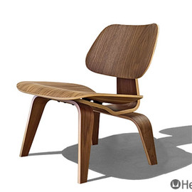 Herman Miller - Eames Plywood Lounge Chair LCW (Walnut)