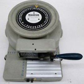 MARSH - MARSH STENCIL MACHINE MODEL H 1/2""