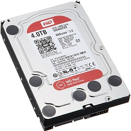 Western Digital - WD HDD 内蔵ハードディスク 3.5インチ 4TB Red  WD40EFRX / IntelliPower / SATA 6Gb/s / 3年保証