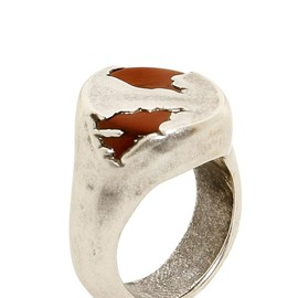 Maison Martin Margiela - METAL RING WITH RESIN DETAILS