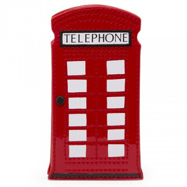 Lulu Guiness - Telephone Box Phone Holder