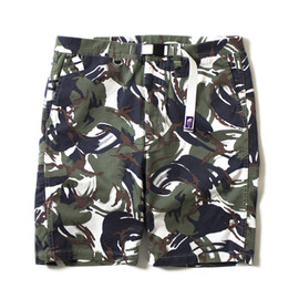 THE NORTH FACE PURPLE LABEL - Camouflage Webbing Belt Shorts
