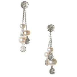 LINKS of LONDON - Watch Over Me Purity Pearl Stiletto Earrings, Links of London Jewellery