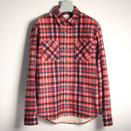visvim - Black Elk Flannel Shirt (Orange)