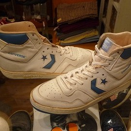 "converse - 「<used>80's converse STARTECH HI white/light blue""made in KOREA"" size:US10(28cm) 15800yen」販売中"