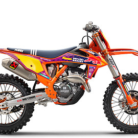 KTM - 250 SX-F TROY LEE DESIGNS