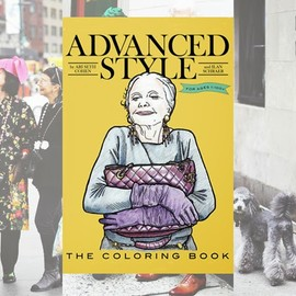 A coloring book for Street-Style-Adoring Adults - _