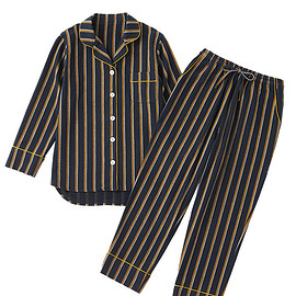 GOOD NIGHT SUIT - TRAD STRIPE ORGANIC COTTON PAJAMAS