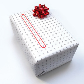WORDLESSDESIGN - Universal Wrapping Paper
