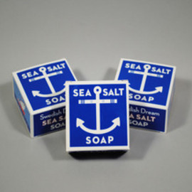 SWEDISH SEA SALT SOAP - Image of SWEDISH SEA SALT {3 packs per order }
