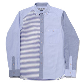 bal - BLOCK STRIPE BD SHIRT