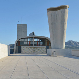 Le Corbusier - Cite Radieuse rooftop to open as art space, Marseille