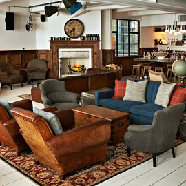 London, UK - Shoreditch House, private members club