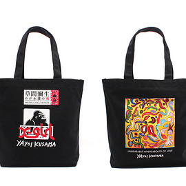 "XLARGE® × X-girl × YAYOI KUSAMA - ""My Eternal Soul"" Ticket+Tote Bag Set"