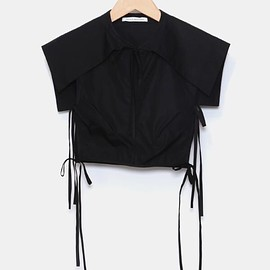 Cecilie Bahnsen - Bib with sailor collar